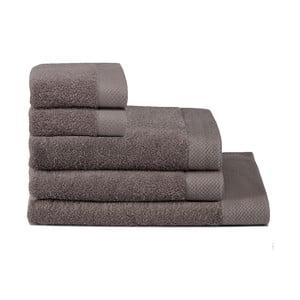 Zestaw 5 ręczników Pure Cement