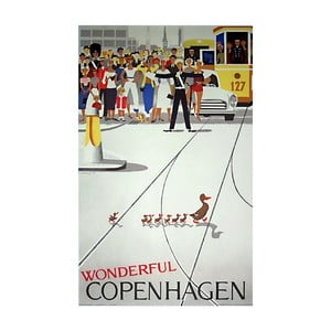 Plakat Architectmade Wonderful Copenhagen,50x70cm