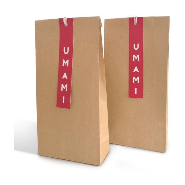 Ścierka kuchenna Umami Fuji Brown, 45x65 cm