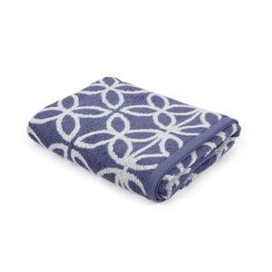 Niebiesko-biały ręcznik Jerry,50x100cm