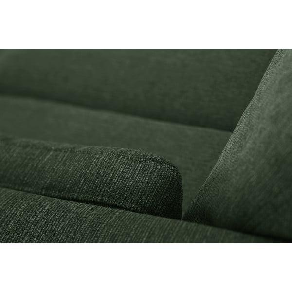 Ciemnozielona sofa trzyosobowa Jalouse Maison Elisa