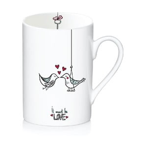 Porcelanowy kubek Love, 300 ml