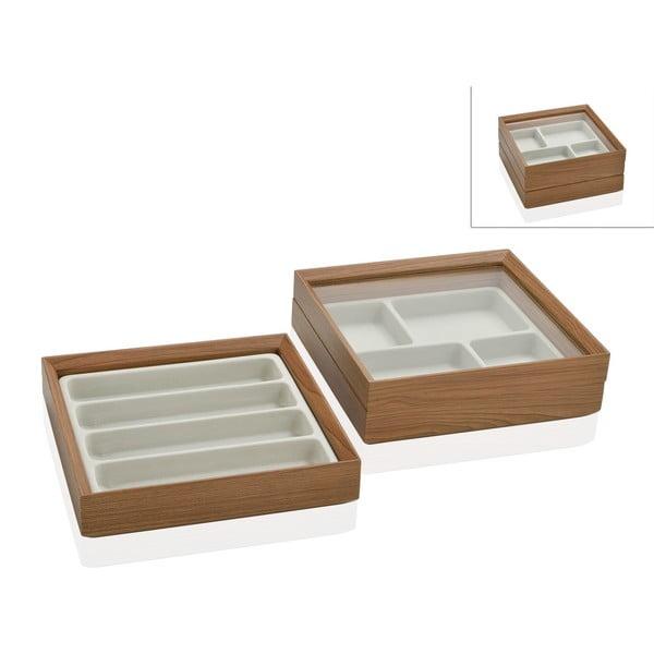 Podwójna szkatułka Woodie