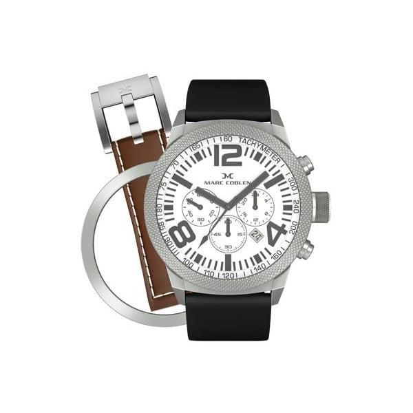 Zegarek unisex Marc Coblen z dodatkowym paskiem i obręczą P16