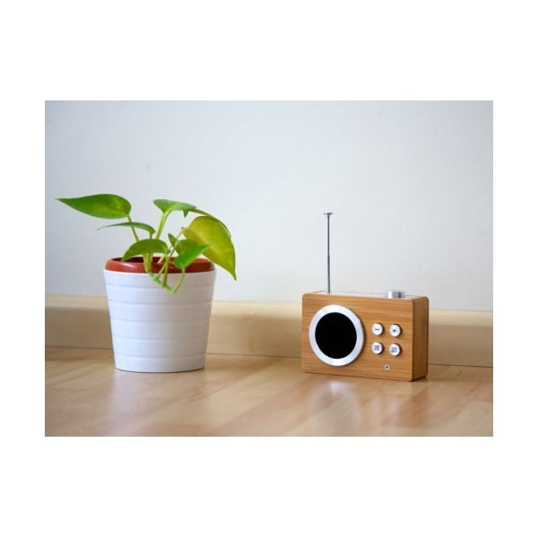 Radio Mini Dolmen, bambusowe