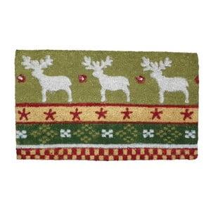 Wycieraczka Christmas Deer, 73x45 cm