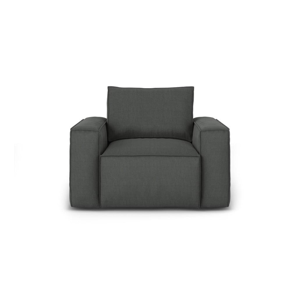 Ciemnoszary fotel Cosmopolitan Design Miami