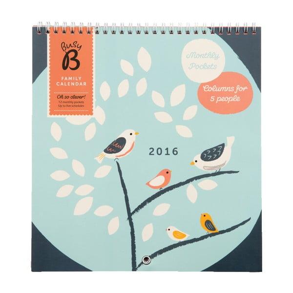 Kalendarz Birds 2016