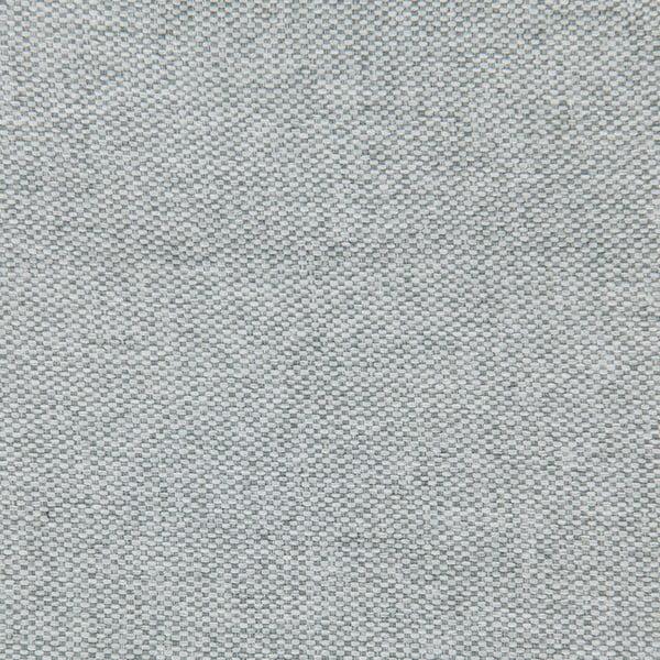 Jasnoszare łóżko z czarnymi nóżkami Vivonita Windsor, 180x200 cm