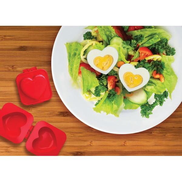 Forma na jajka w kształcie serca