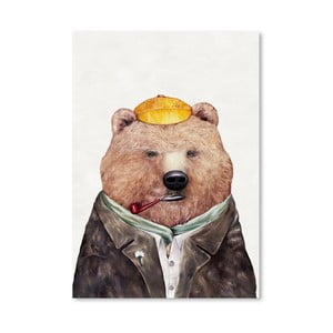 "Plakat ""Brown Bear"", 30x42 cm"