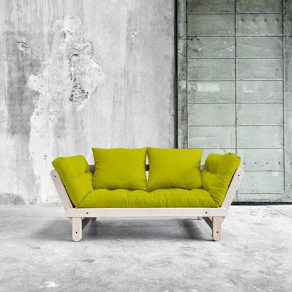 Sofa rozkładana Beat Beech/Pistachio
