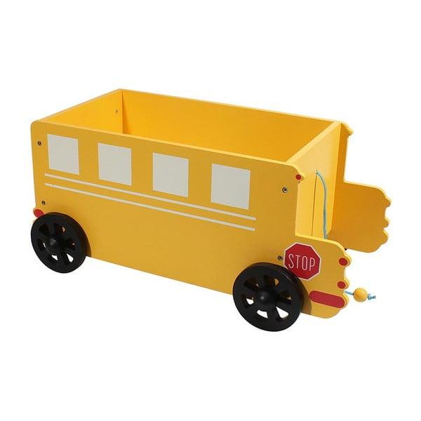 Pudełko dziecięce Yellow Car
