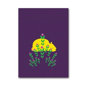 Plakat Niedźwiedź, mały