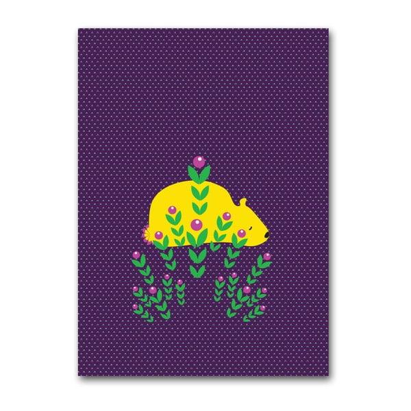 Plakat Niedźwiedź, duży