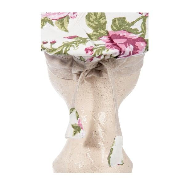 Zestaw dziecięcy fartuch, czepek i rękawica kuchenna Roses Pink