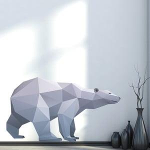 Naklejka Ambiance Origami Polar Bear