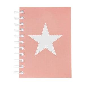 Notes Stars Rosa