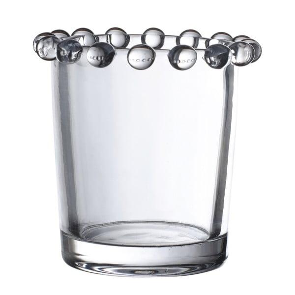 Szklany świecznik Côté Table Perloa, 7x6,5 cm