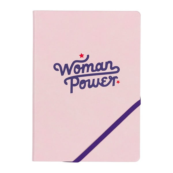 Notes A5 Yes studio Woman Power, 192 stron