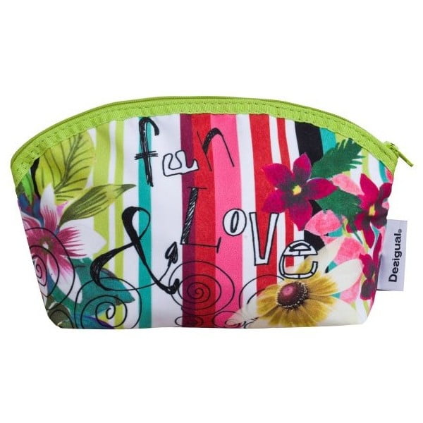 Kosmetyczka DESIGUAL Jungle Verde