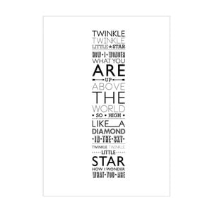 Plakat Twinkle, Twinkle, Little Star