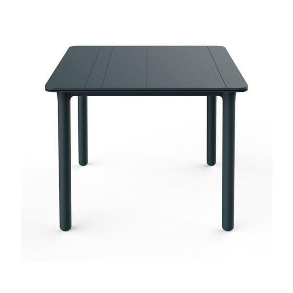Ciemnoszary stół ogrodowy Resol NOA, 90x90cm