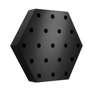 Stojak na wino Hexagon Maxi, czarny