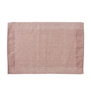 Różowa mata stołowa Södahl Heritage, 33x48 cm