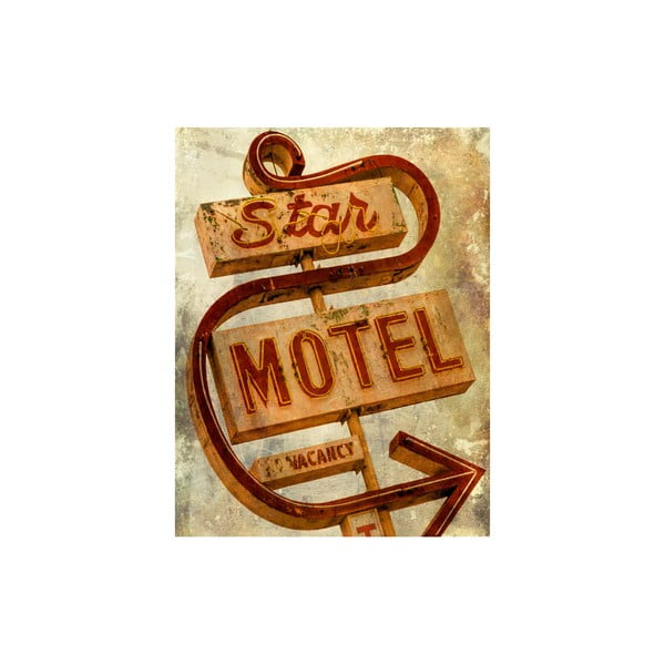 Obraz LA Star Hotel, 50x65 cm