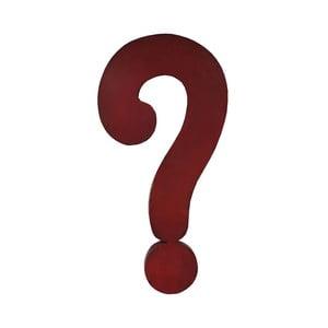 Dekoracja znak zapytania Antic Line Question Mark