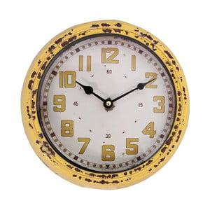 Zegar Pendule, żółty