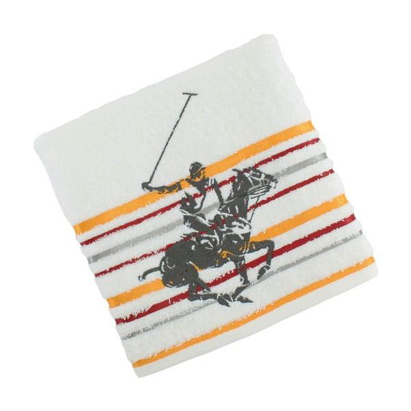 Ręcznik bawełniany BHPC White 50x100 cm, żółty