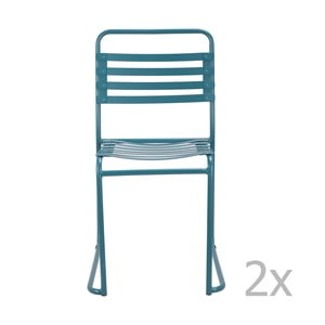 Niebieskie krzesło Red Cartel Park