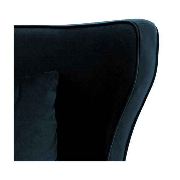 Granatowy fotel Vivonita Douglas Love