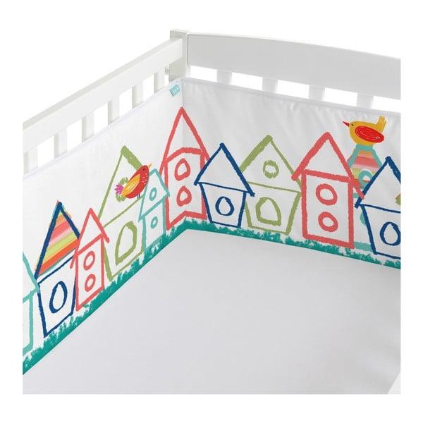 Ochraniacz do łóżeczka Moshi Moshi Birdhouse, 210x40 cm