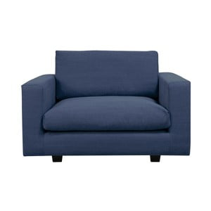 Niebieski fotel Helga Interiors Fritz