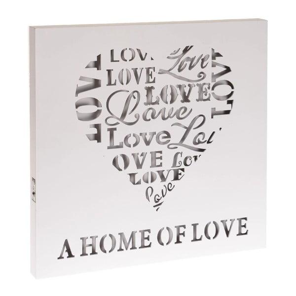 Dekoracja świecąca Home Of Love, 40x40 cm