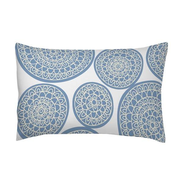 Poszewka na poduszkę Circle Azul, 70x90 cm