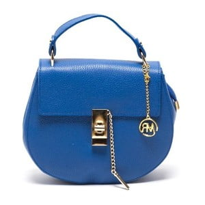 Skórzana torebka Roberta M 1092 Bluette
