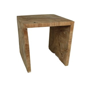 Taboret z drewna tekowego HSM Collection U