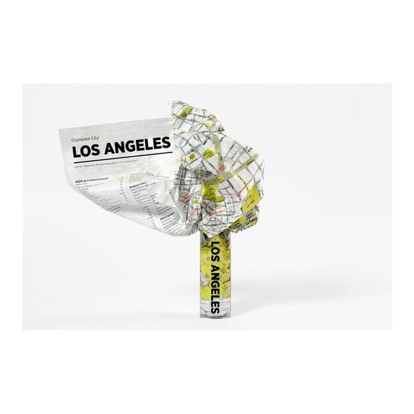Zgnieciona mapa Palomar Los Angeles