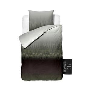 Pościel bawełniana Dreamhouse Forest Grey, 140 x 220 cm