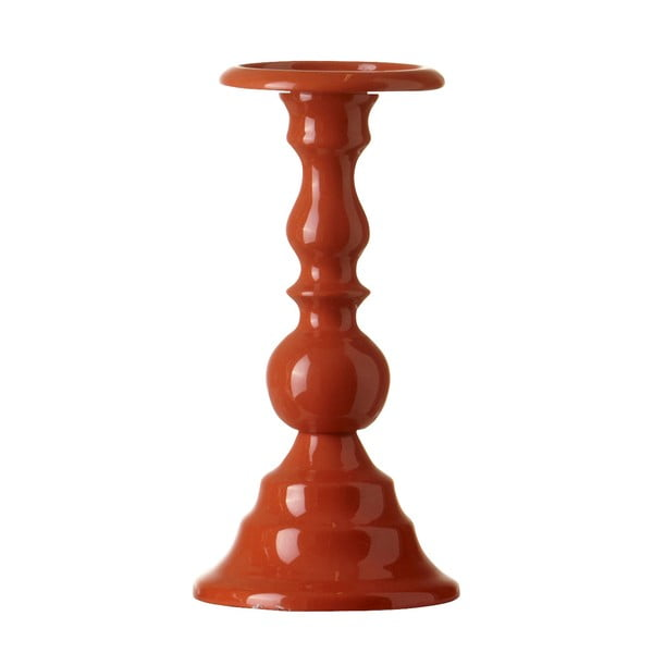Świecznik Chunky Orange, 24 cm