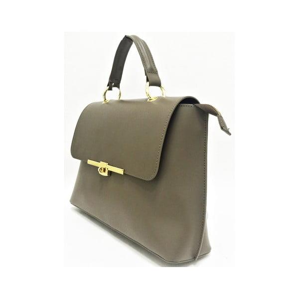 Skórzana torebka Lilu Taupe