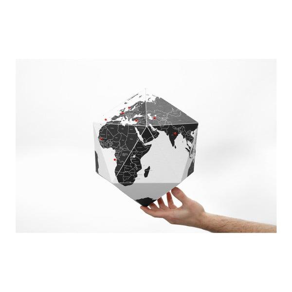 Czarny globus składany Palomar Here, 30cm