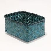 Niebieski koszyk bambusowy Compactor