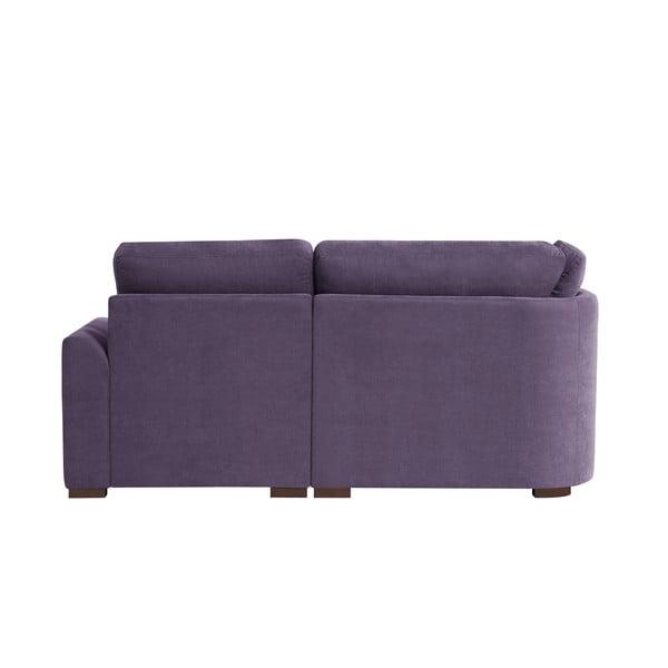 Sofa narożna Jalouse Maison Irina, prawy róg, fioletowa