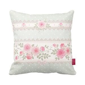 Poduszka Vintage Pink Roses, 43x43 cm