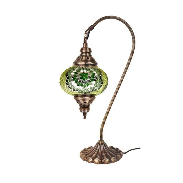 Szklana lampa Homemania Fishing, ⌀17cm